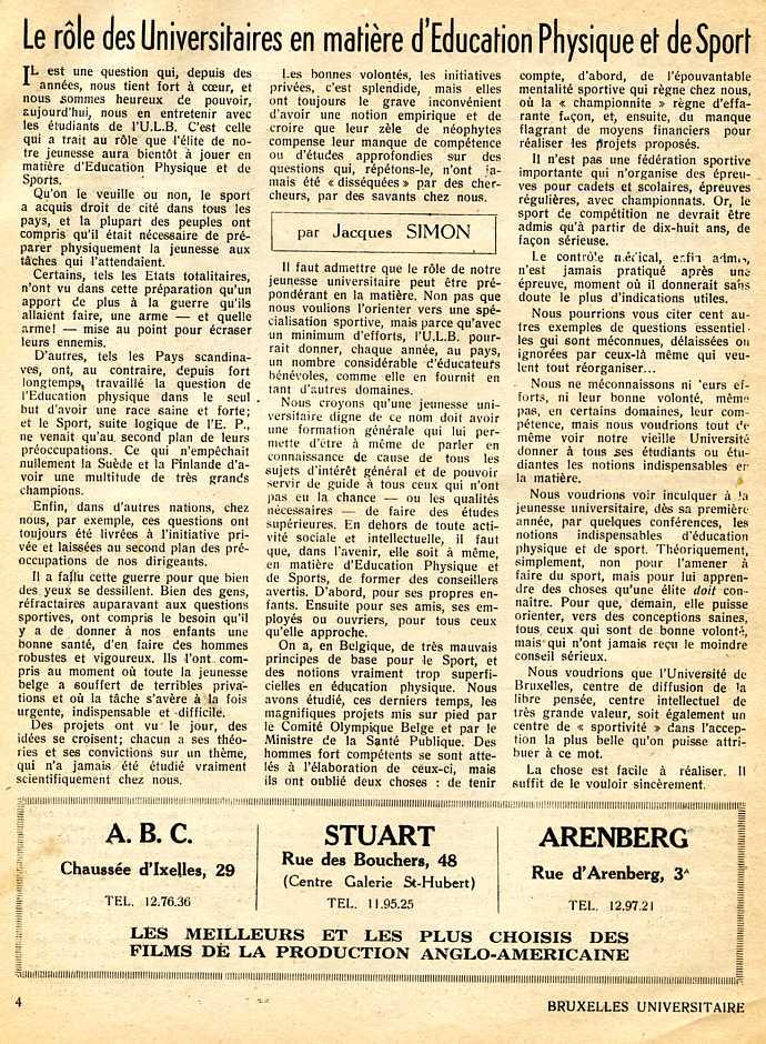 journal bxl universitaire sport152